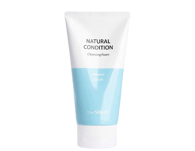 The Saem Natural Condition Cleansing Foam Moisture